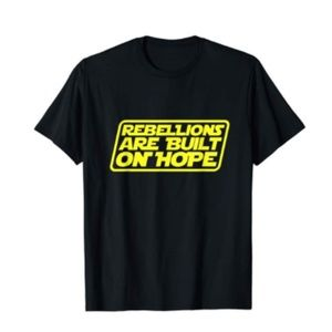 Other - Rebellions Are Built On Hope Quote Statements T-Sh